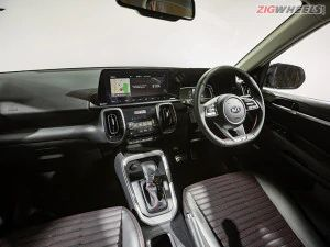 Kia Sonet Interior Detailed In Pictures
