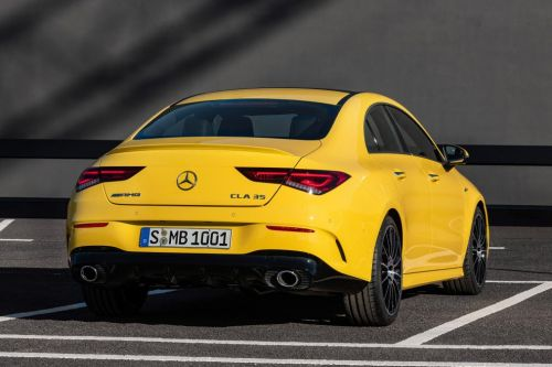 Mercedes-AMG CLA 35 AMG 4-Matic Revealed