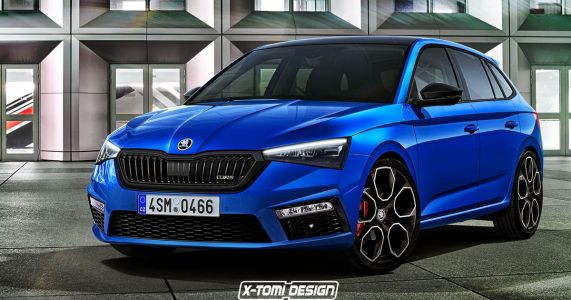 Skoda's Fictional Rival To The Golf GTI Deserves To Be Built