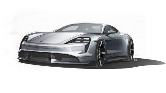 Porsche Quietly Teases New Taycan Design Sk