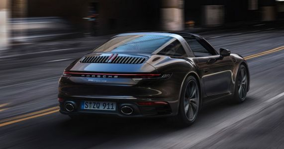 The 992 Porsche 911 Targa Is A Heavy But Fast Halfway House