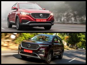 MG Motor India Launches My MG App For Hector ZS EV Online Bookings