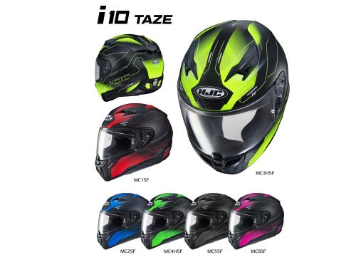 HJC i10 Motorcycle Helmet First Look Preview