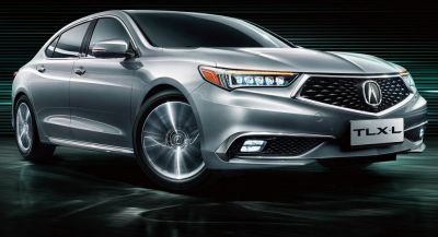 Acura TLX-L Revealed Ahead Of Chinese Debut