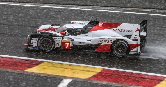 These Photos From A Snowy Six Hours Of Spa Look Absolutely Stunning