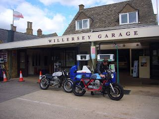 Guzzi's in the Cotswolds