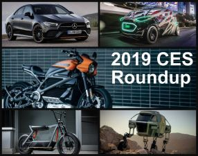 Best Auto Showcases At CES 2019 Mercedes CLA Harley Livewire Hyundai Elevate More