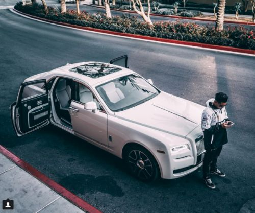 Pauly D Has a Rolls Royce Ghost Now