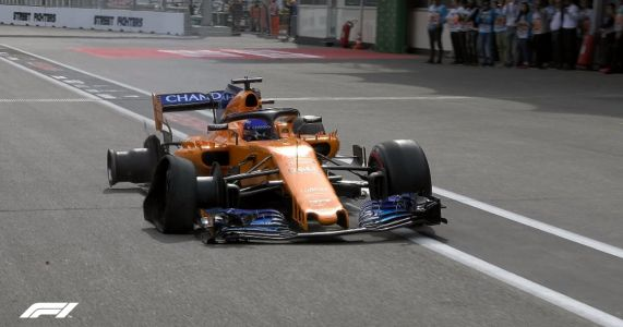 Alonso Hobbling His McLaren To The Pits Is The Heroic Sight Your Monday Needs