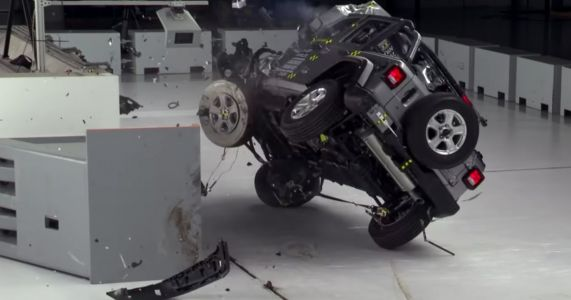 Jeep Wrangler 'Changes' Being Worked On Following Crash Test Roll
