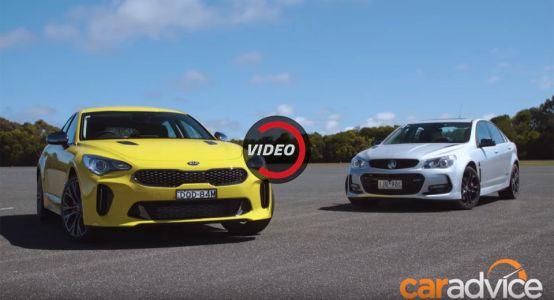 Can The Kia Stinger Take On The All-Aussie Holden Commodore?