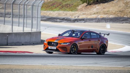 The Jaguar XE SV Project 8 Breaks Laguna Seca's Sedan Lap Record