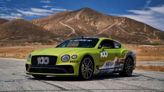 Bentley To Take On Production Car Record At Pikes Peak With The Continental GT Later This Month