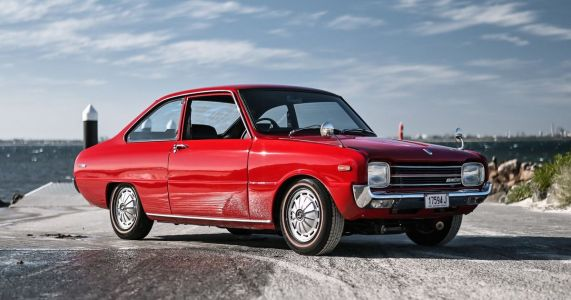 Why Wouldn't You Want A Rotary-Swapped Mazda 1200 Restomod?