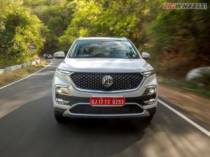 MG Hector Bookings Stopped For The Time Being