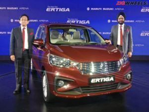 2018 Maruti Suzuki Ertiga Launched At Rs 744 Lakh