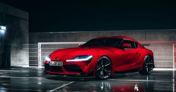 Famed BMW Tuner AC Schnitzer Has Modified The A90 Toyota Supra