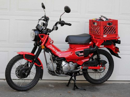 2021 Honda Trail 125 ABS MC Commute Review Photo Gallery