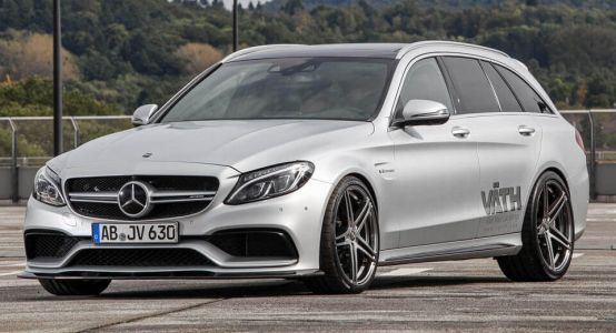 Is 700HP Enough? Mercedes-AMG C63 Estate Turned Into A Beast By Vath