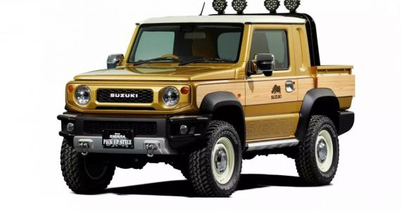 Behold: The Suzuki Jimny Sierra Pickup Style And Survive Concepts