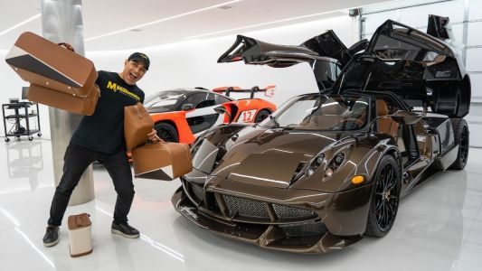 One-Off Pagani Huayra Hermès Edition Comes With R4 Million Worth of Hermès Bags