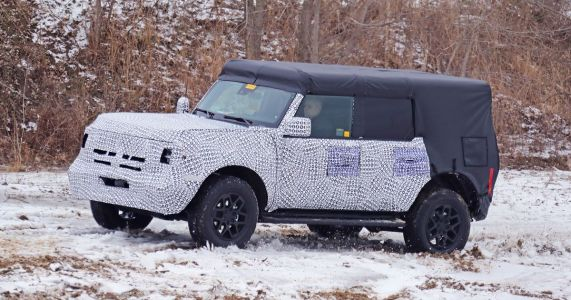 The Boxy 2021 Ford Bronco Four-Door Has Been Spied In Testing