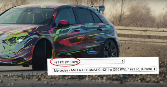 415bhp Mercedes-AMG A45 S Accidentally Revealed By Insurance Company