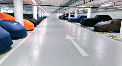 This Is A Five-Star Parking Hotel For Exotic Cars