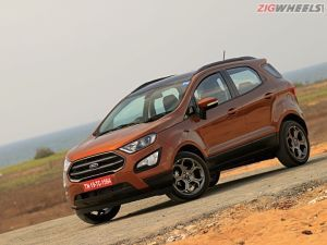 Ford EcoSport Gets A New Instrument Cluster In Select Variants