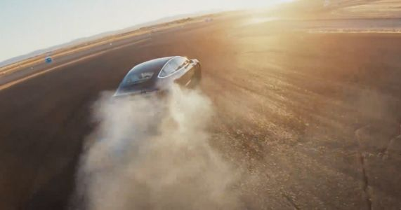 A Software Update Turns The Tesla Model 3 Into A Drift Monster