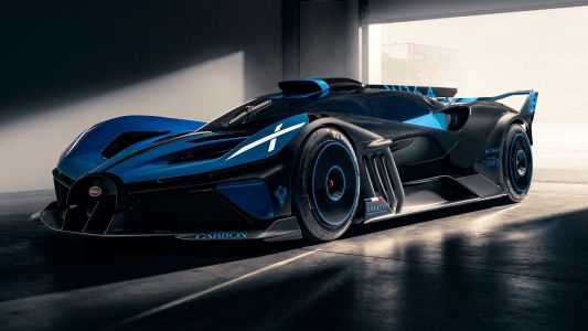 Bugatti Shows Off Bolide Concept Capable Of 500 km/h and 5:23 Nürburgring Lap