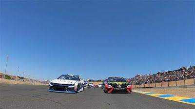 NASCAR Cup Series back on the road at Sonoma