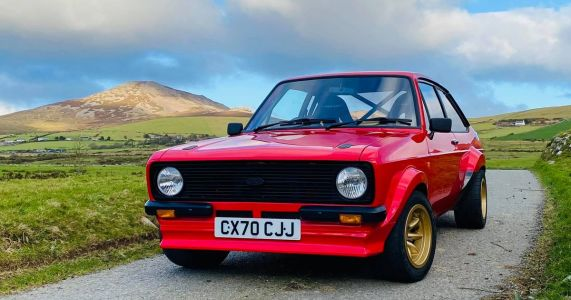 You Can Buy A Brand New Mk2 Ford Escort In 2021