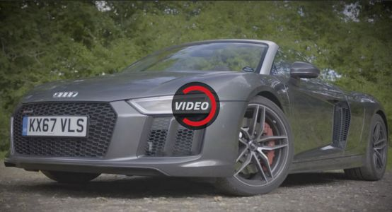 Audi R8 Spyder Is Even More Enjoyable Than The Coupe