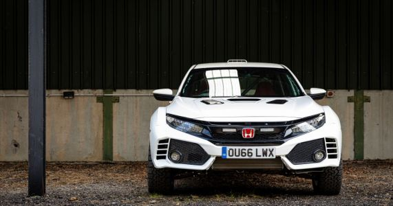 These 395bhp And Dakar-Inspired Civic Type Rs Are Our Kind Of Awesome
