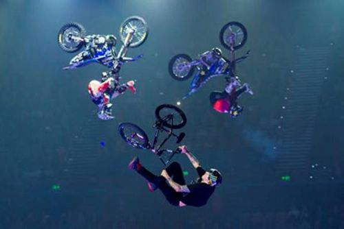 NITRO CIRCUS REVS UP RESIDENT STAGE SHOW