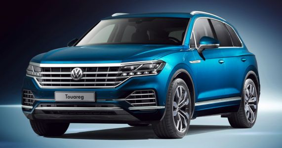 Behold The New, Lighter Volkswagen Touareg And Its Epic Screen