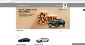 BMW Begins Online Sales In India