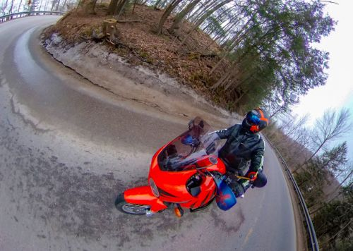 Spring Riding On-Bike Photography