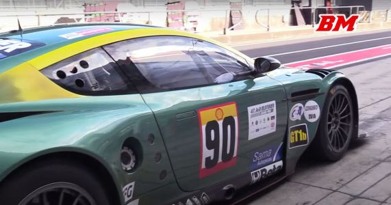 Treat Your Ears To 7 Minutes Of The Aston Martin DBR9's Screaming V12