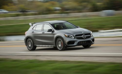 2018 Mercedes-AMG GLA45 4Matic Tested: Race and Space