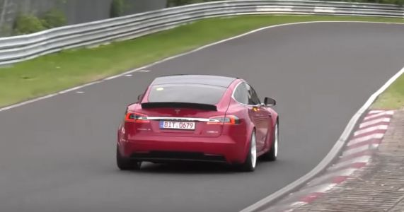 A Tesla Model S Has Smashed The Taycan's 'Ring Time, But It's Far From Standard