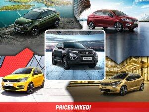 Tata Tiago Altroz Nexon Harrier Prices Hiked Tigor Prices Slashed