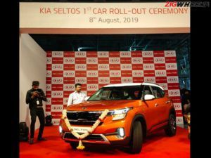 First Kia Seltos Rolls Off The Assembly Line