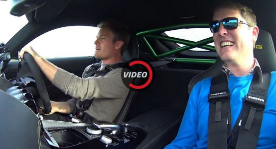 Nico Rosberg Drives The Mercedes-AMG GT R For The First Time