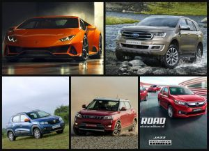 Top 5 Car Stories Of The Weeklamborghini huracan mahindra XUV300renault kwid ford endeavour honda amaze