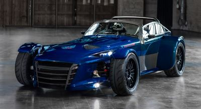 Donkervoort Delivers Blue D8 GTO RS Bare Naked Carbon Edition