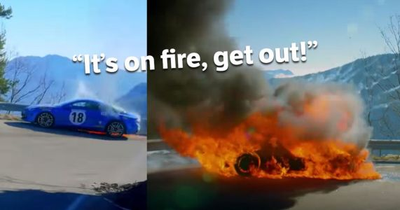 The Next Top Gear Episode Will Feature THAT Alpine A110 Fire