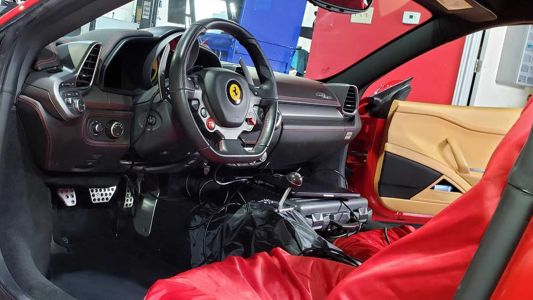 Texas-based Company To Produce A Few Manual Ferrari 458s