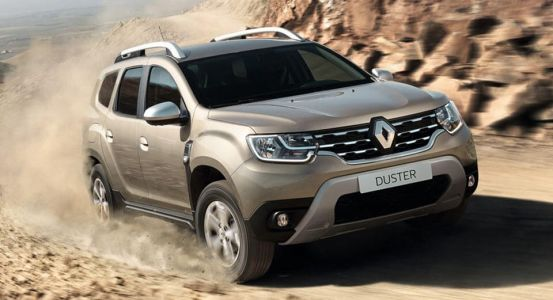 Renault Plasters Its Name, Badges And Vents On New Duster SUV